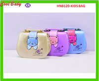 Borsa per bambini Borsa a tracolla Cat Fish Design Pattern On Girls Borsa piccola PU mini Shopping bag Borsa di moda 17x13x6.5cm 3 colori HNB120
