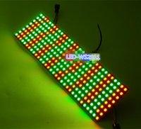 ingrosso segno di colore principale-5 pz / lotto DC5V 8 * 32 Full color WS2812B WS2812 5050 RGB SMD Flessibile LED Pixel Panel Light DC5V uso per fare segni