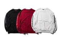 erkek bayan hoodies toptan satış-Yeni Erkekler Kadınlar Kanye West Hoodies Tişörtü SEZON 4 Hoodie Kazak Eşofman Hip Hop Moda Calabasas Hoodies