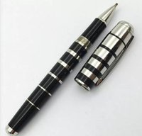 Wholesale Plastic Pen Clips - George Bernard Shaw Collection Rollerball Pen Silver Clip Luxury Business Gift