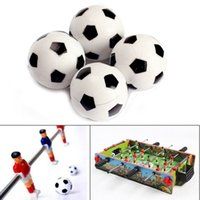 Plastique de football Prix-32mm Plastic Table Soccer Football Ball Football Fussball K5BO Livraison gratuite New