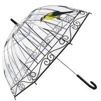 points de couleur en plastique achat en gros de-Mode Apollo Transparent Parapluie Transparent POE Parapluie Pour Les Filles Champignons Imprimer Parapluie Livraison Gratuite 20pcs / lot