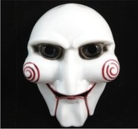 SAW Thema Maske Halloween Maske Jigsaw Killer Jigsaw Homicidomania Maske Film Männer Maske Make-up Kleidung Requisiten