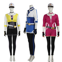 Wholesale Hot Pink Anime Costumes - HOT Anime Pocket Monster Valor Mystic Instinct Team Figure Cosplay Costume Hoodie Custom Made Famale Whole Set