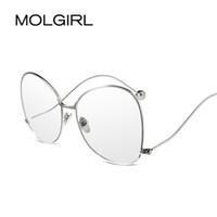 7eabde70e18 ... Frames Vintage Eye glasses Blue Diaphrag Lens Optical Glass Women Men  gafas armacao oculos de grau. 38% Off