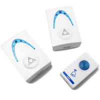 Wholesale Receiver Knobs - Free Shipping 36 Tones 80m Receiver Distance Wireless Doorbell Sound Door Bell Up Wireless Remote Doorbell home order<$18no track