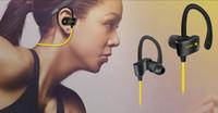 kulaklıklar bluetooth klipleri toptan satış-56 S Spor Kablosuz Bluetooth 4.1 Stereo Kulaklık Kulaklık Handsfree kulak içi kulaklıklar Gürültü Iptal Su Geçirmez Ses Ile Klip