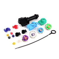 Wholesale New Beyblade Sets - Retail 1Pcs 1Set New Top Metal Master Rapidity Fight Rare Beyblade 4D Launcher Grip Set Worldwide Hot Selling