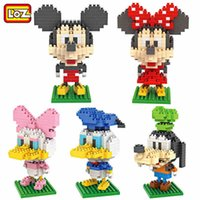 Wholesale Children Mini Set - LOZ diamond min Building bricks Toys set For Children Mini Building Blocks figures Baby Brick Figures Kids Gift Min Brick Blocks toys