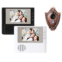 Wholesale Lcd Digital Peephole Door Bell - 2.8 Inch LCD Door Bell Viewer Digital Monitor Peephole Security Cam Camera with Night Vision Video