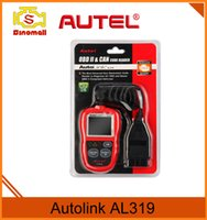 Wholesale Kia Speaker - Original Autel AutoLink AL319 OBD2 Code Reader with TFT color display and built-in speaker
