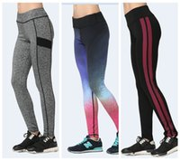 Sweat Yoga Pantalons Slim Body Sculpting Fitness Quick-Drying Pantalons Slim Femme Haute taille Europe Jogging Sports Leggings Tight LNSYL