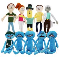 Wholesale Happy Plush - Christmas Gifts 1pcs Rick and Morty Happy & Sad Mr. Meeseeks stuffed plush toy free shipping