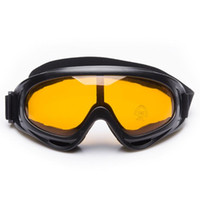 Wholesale Cool Ski Goggles - Cool Motorcycle Motocross Dirt Bike Off Road Racing Goggles Ski Snowboard Glasses Surfing Airsoft Paintball Eyewear 6 Colors Free Shipping