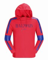 Wholesale Collared Sports Shirts - Causal Men's Hoodies Sweatshirt Famous Brand Designer Pullover Men Sportwear Men Coat Jogger Running Sport Sweater shirts Men's Hoodie 11003
