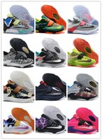 Wholesale Kd Prices Green - Newest Kevin Durant KD 7 Basketball Shoes KD7 Sports Shoe Athletic Running shoes Best price Quality Size US 7-12