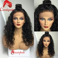 Wholesale Malaysian Human Wigs - 100% Unprocessed Malaysian Loose Wave Full Lace Wigs For Black Women Glueless Virgin Hair Lace Front Human Hair Wigs Wave Wholesale Price
