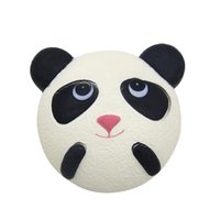 Wholesale Lovely Panda Cartoon - Panda PU Cute Lovely Cartoon Pendant Kawaii Squishy Simulation Bread Food Squishy Super Kid Toy Decompression Toys