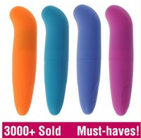 Wholesale Stimulation Adult Toys - Powerful Mini G-Spot Vibrator for beginners, Small Bullet clitoral stimulation, adult sex toys for women Sex Products for women