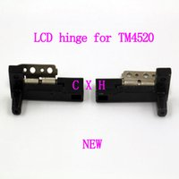 Wholesale Acer Hinges - brand new LCD hinge for Acer tm4520 tm4720 laptop screen hinges free shipping