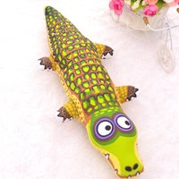 Wholesale Dog Training Usa - 5PCS Wholeasle USA Fatcat New Pets Toys Good For Dog Pet Supplies Dog Toys Molar Grinding The Claw Toy Train With Crocodile