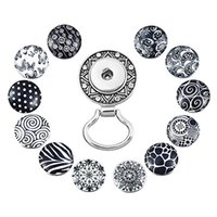 broschehalter großhandel-Silber Druckknopf Dehnbarer Brillenhalter Ausweishalter Schlüsselbund Namensschildhalter Brosche Austauschbarer Druckknopf N186S