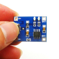 tarjeta de puerto usb al por mayor-10 UNIDS / LOTE TP4056 1A Lipo Batería Junta de Carga Módulo de Batería de litio DIY MICRO Puerto Mike USB venta caliente