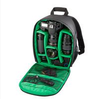ykk reißverschluss schwarz großhandel-2016 neue Nylon + YKK reißverschluss dslr kamera rucksack kameratasche rucksack schwarz kameratasche