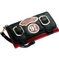 Wholesale Fashion Express - Harry Potter Hogwarts Express 9 3 4 Double Buckle Flap Wallet DFT-6003