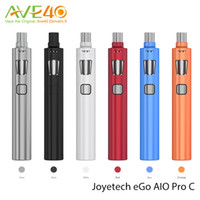 Wholesale Ego C Tanks - Authentic Joyetech eGo AIO Pro C Starter Kit 4ml Tank Capacity Large Airflow Control