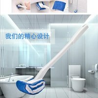 Wholesale New Toilet Design - New design of Water closet Toilet brush with holder Bathroom Norest brush Bathroom toilet cleaner Toilet cleaning tool