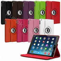 Wholesale Ipad Covers Stands Best - Best 360 Degree Rotation smart Stand PU Case Cover For Apple for ipad 4 air 5 Samsung galaxy Tab 7.0 8.4