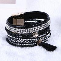 Wholesale Cheap Zodiac Bracelet Charms - 2016 Newest Fashion Sell Hot Charm bracelets weaving Multilayer Leather Bracelets Women gift Bracelet Cheap bracelet zodiac
