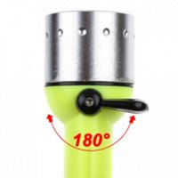 Wholesale Green Underwater Flashlight - 2015 New Led Scuba Diving Flash Light Lamps 800 Lumens Q5 LED Dive Lamp Underwater Hunting Torch Flashlight AA