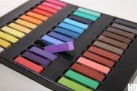 Wholesale Hair Color Chalk Soft Pastels - New 2015 12 Color Non-toxic Temporary Hair Chalk Dye Soft Pastel Salon Kit Show Party HOU