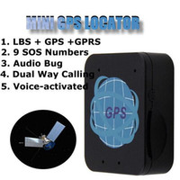 Wholesale Car Locator System - Vehicle Car Tracking System GPS Locator GPRS GSM Tracker Mini Locator HP