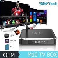 Wholesale Android A9 Tv Box - Newest MXQ M10 Android 4.4 kitkat Quad Core TV Box Amlogic S812 Cortex A9 2.0GHZ Mali-450MP WiFi 2GB 8GB TV BOX