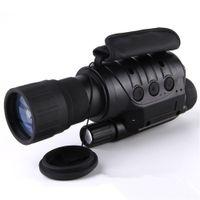 caméras monoculaires achat en gros de-Lunette de vision numérique de vision nocturne infrarouge professionnelle 6x50 sans caméra télescope thermique NV760D + TND IR 6x zoom de chasse monoculaire HD