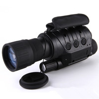 Wholesale Ir Night Vision Telescope - Professional 6x50 Infrared Night Vision Digital Video Goggle no thermal Telescope Camera NV760D+ TDN IR 6x Zoom HD Hunting Monocular