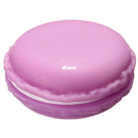 Wholesale New Arrive Sweet Macarons Storage Box Candy Color For Jewelry Earring Outing Boxes Living Essential