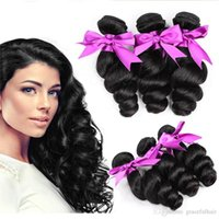 Wholesale Cheapest Indian Remy Hair Extensions - 8A 10A sale 100% Unprocessed Remy Virgin Hair Extensions High Quality Brazilian Loose Human Hair Cheapest Loose Wave 100g lot cmq32