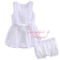 ingrosso tulle bianco della bambina-New Fashion Pettigirl Solid White Tulle Abbigliamento Set per neonati e bambini Ragazze Floral Print Shorts Bowknot Top Baby Wear CMCS90315-274