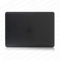 Wholesale laptop plastic case cover resale online - 100PCS Clear Crystal Plastic Transparent Laptop Cases Full Body Protector Case Cover for Apple Macbook Air Pro quot quot