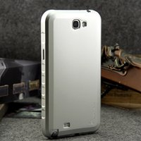 Wholesale Galaxy Note2 Aluminum Case - Luxury Ultra Thin Alloy Aluminum Metal Frame Bumper Case Cover For Samsung Galaxy Note 2 Note2 II N7100 Mobile Phone Shell Cover