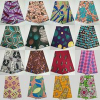 Wholesale Weaving Warp - Fashion Ankara fabric  African Print Kitenge Ethnic Wax for african dress making 6 yards NASW1-29