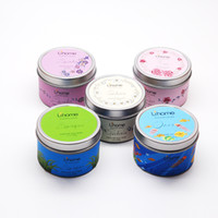 Wholesale Home Wax - scented candles candle jars thanksgiving candles christmas decorations christmas gift home candles wedding candles soy wax party decor, 100G