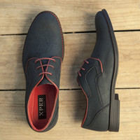 Wholesale Men Dress Black Shoes Wholesale - XPER Spring Fall Casual Men Dress Shoes Lace-Up Wear Comfortable Men Wedding Shoes #YM86518BL BU