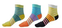 Wholesale Women S Fashion Socks - Five fingers socks women 's cotton spring and summer fashion color in the thick tube sports leisure toe socks