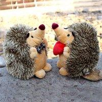 Wholesale Nici Animal Series - NICI Cartton Animal Hedgehog Jungle Series Animal Stuffed Doll Plush Toys Christmas Birthday Gifts Random Delivery