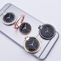 Wholesale Gold Finger Watch - New Watch Finger Ring Holder Universal Mobile Phone Smartphone Ring Stander Finger Grip for iPhone 7 8 Samsung Note 8
